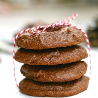Gluten-free chocolate peanut butter cookies