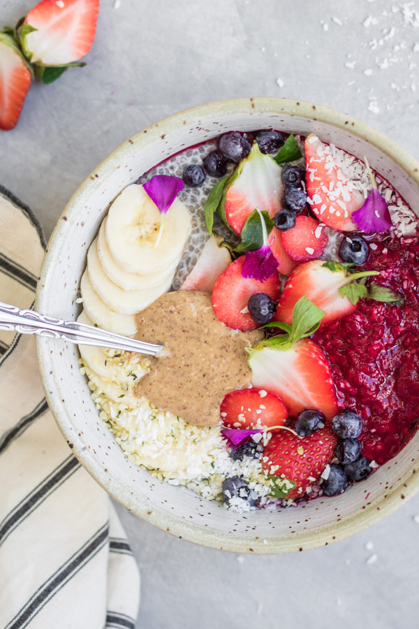 hippie breakfast bowl