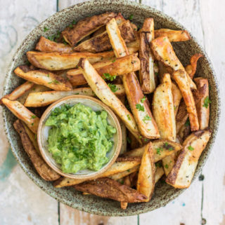 The best crispy oven baked fries