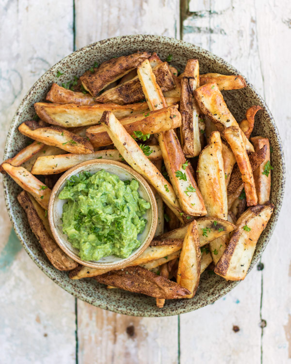 the best crispy oven baked fries